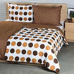 4Home Bavlnené obliečky Kiko, 140 x 220 cm, 70 x 90 cm