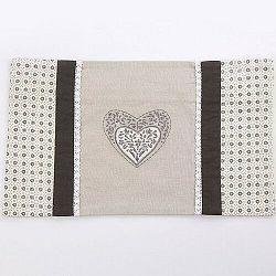 Altom Obliečka na vankúšik Provence Heart, 30 x 50 cm