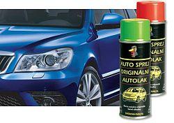 AUTOEMAIL Autosprej ŠKODA - bezfarebný lak v spreji - AKM0629 - Bezfarebný lak - 200 ml