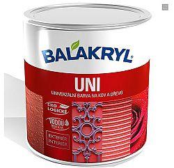 Balakryl Balakryl UNI lesklý - univerzálna vrchná farba - 1000 - biela - 0,7 Kg