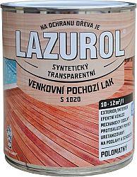 BARVY A LAKY HOSTIVAŘ, a.s. LAZUROL Lak S 1020 - Vonkajší podlahový lak na drevo - bezfarebný - 0,75 L