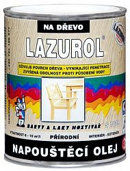 BARVY A LAKY HOSTIVAŘ, a.s. LAZUROL - NAPÚŠŤACÍ Olej - S 1039 - bezfarebný - 0,75 L