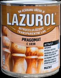 BARVY A LAKY HOSTIVAŘ, a.s. LAZUROL PRAGOMAT C 1038 - MATNÝ acetónový lak - bezfarebný - matný - 4 L