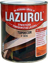 BARVY A LAKY HOSTIVAŘ, a.s. LAZUROL TOPDECOR S 1035 - tenkovrstvová lazúra s olejom - T023 - teak - 0,75 L