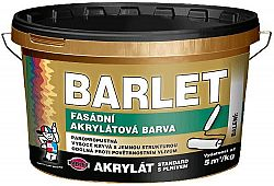 BARVY A LAKY TELURIA, s. r.o. BARLET fasádna akrylátová farba s plnivom - miešanie na zakázku - biela - 15 Kg