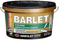 BARVY A LAKY TELURIA, s. r.o. BARLET fasádna akrylátová farba s plnivom - miešanie na zakázku - biela - 5 Kg