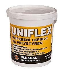 BARVY A LAKY TELURIA, s. r.o. Lepidlo na polystyrén UNIFLEX - 1 Kg