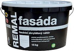 BARVY A LAKY TELURIA, s. r.o. REMAL FASADA - fasádna farba - biela - 4 Kg