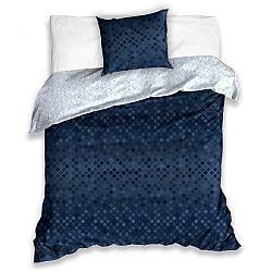 BedTex Bavlnené obliečky Snake tmavomodrá, 140 x 200 cm, 70 x 90 cm