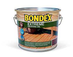 BONDEX Bondex Olej Extreme Decking Oil - olej s vysokou penetračnou schopnosťou - bezfarebný - 2,5 l
