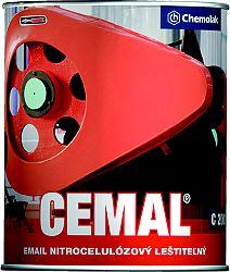 Chemolak C 2001 CEMAL - Nitrocelulózový email - 1000 - biela - 0,75 L