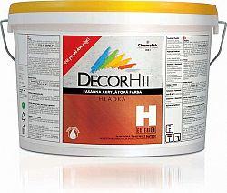 Chemolak DECORHIT H - farba fasádna hladká - 0100 - biela - 5 Kg