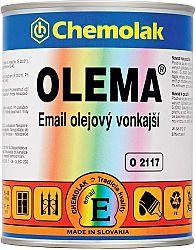 Chemolak O 2117 OLEMA - olejový email - 1000 - biela - 0,75 L