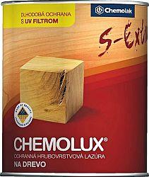 Chemolak S 1025 Chemolux Extra - hrubovrstvová lazúra na drevo - 162 - lipa - 0,75 L