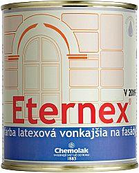 Chemolak V 2019 Eternex - latexová farba vonkajšia - 0100 - biela - 0,8 Kg