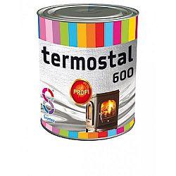 Chromos-Svjetlost Termostal 600°C - farba na komínové rúry, ohniská, pece - strieborný - 0,2 L