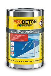 COLORLAK Trexon Bazény H-2203 - kvalitný náter betónových bazénov alebo žúmp - modrá - 3,5 L
