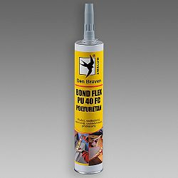 Den Braven Bond Flex PU 40 FC - polyuretánové lepidlo na budovy - biela - 310 ml