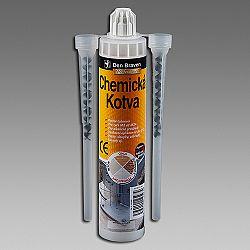 Den Braven Chemická kotva  polyester - šedá - 300 ml