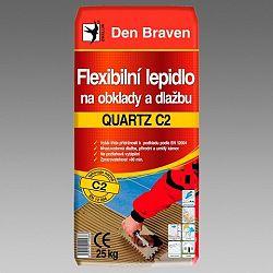 Den Braven FX lepidlo QUARTZ C2 na obklady a dlažbu - šedá - 25 kg