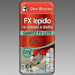 Den Braven FX lepidlo QUARTZ FX C2TE na obklady a dlažbu - šedá - 25 kg
