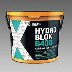 Den Braven Hydro blok B400, asfaltová izolačná stierka - cierna - 10 kg