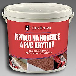 Den Braven Lepidlo na koberce a PVC krytiny - biela - 1 kg