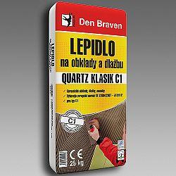 Den Braven Lepidlo na obklady a dlažbu QUARTZ KLASIK C1 - šedá - 25 kg