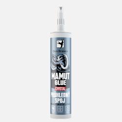 Den Braven Mamut glue crystal  - transparentné lepidlo - transparentná - 290 ml