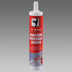 Den Braven Sanitárny neutrálny silikón Oxim - biela - 310 ml