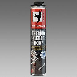 Den Braven Thermo Kleber Roof - polyuretánové lepidlo na strechy - zelená - 750 ml