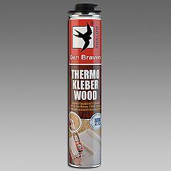 Den Braven Thermo Kleber Wood - polyuretánové lepidlo na drevo - žltá - 750 ml