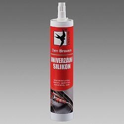 Den Braven Univerzálny silikón na smalt, dlaždice a kovy - cierna - 310 ml