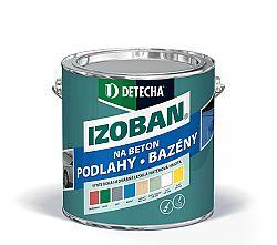 DETECHA Izoban - syntetická farba na betón - zelený - 0,8 kg