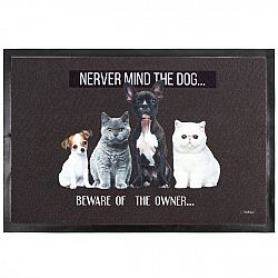 Domarex Rohožka Salut Never mind the dog, 40 x 60 cm