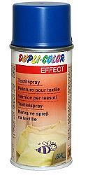 DUPLI COLOR DC Sprej na textil - farba na textil - efekt - čierny - 150 ml