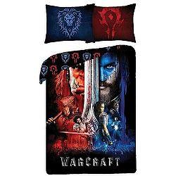 Halantex Obliečky Warcraft black bavlna 140x200, 70x90 cm
