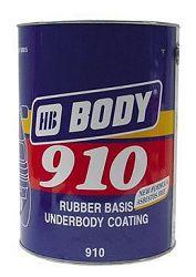HB BODY Hmota Body 910 na spodky áut prelakovatelná - 1 Kg