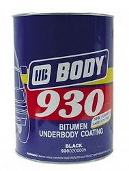 HB BODY Hmota Body 930 na spodky áut neprelakovatelná - 2,5 Kg