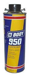 HB BODY Hmota Body 950 protihluková - cierna - 1 Kg
