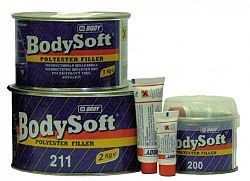 HB BODY Tmel Body Soft PES - žltá - 1 Kg
