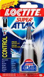 HENKEL Loctite Super Attak Control 3g - 3 g