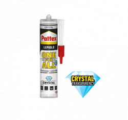 HENKEL Pattex ONE FOR ALL CRYSTAL 290ml  - 290 ml