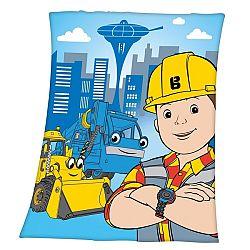 Herding Detská deka Bob staviteľ, 130 x 160 cm