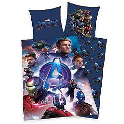 Herding Detské bavlnené obliečky Avengers, 140 x 200 cm, 70 x 90 cm