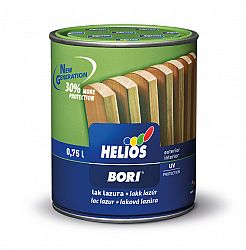 HG Helios Group BORI Laková lazúra - na plot, altánok, fasádu - 4 - orech - 5 L