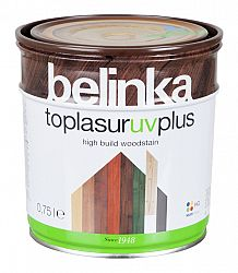 HG Helios Group Lazúra Belinka Toplasur - hrubovrstvová lazúra na drevo - 13 - borovica - 10 L