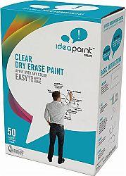 iPAINT IDEAPAINT CREATE CLEAR - priesvitná whiteboardová farba ipaint - clear - sada na 4,6 m2