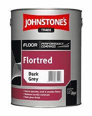 Johnstone's Johnstones FLORTRED - farba na podlahy so zaťažením - tmavo šedá - 5 L
