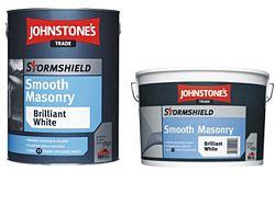 Johnstone's Johnstones Stormshield Smooth - fasádna farba - biela - 5 Kg